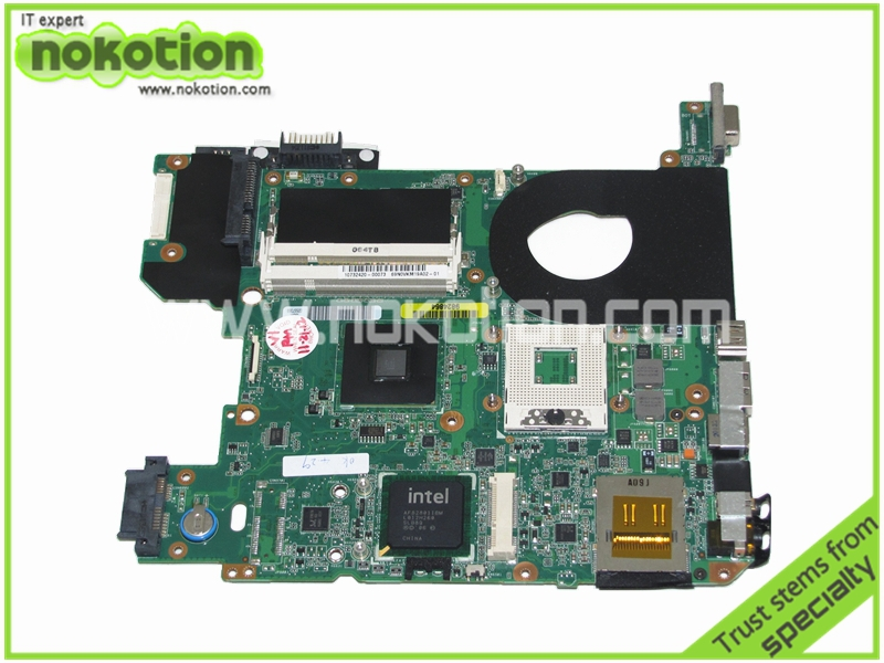 NOKOTION H000013180 Laptop Motherboard for TOSHIBA SATELLITE M500 M505 Intel GM45 Mainboard аксессуар переходник espada ssd msata to m 2 ngff msn 42270