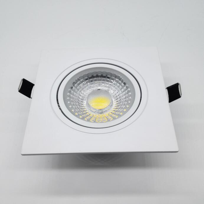 Factory Wholesale price 10W 15W Dimmable Recessed COB Led Ceiling Down light Led driver AC110V AC220V AC230V in Downlights from Lights Lighting