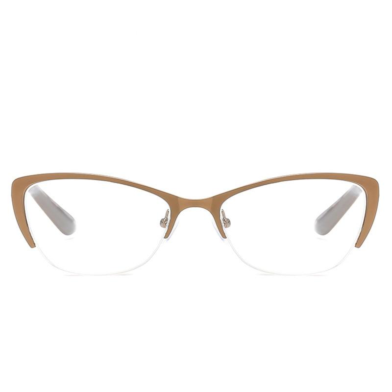 17249d52d73 Aliexpress.com   Buy 2018 Fashion Metal Cat Eye Reading Glasses Oversized  Women Reading Glasses Old Men Eyewear Presbyopia 1.0 1.5 2.0 2.5 3.0 4.0  from ...