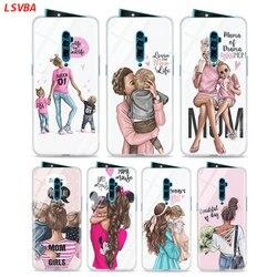 На Алиэкспресс купить стекло для смартфона silicone case baby mom girl hot fashion for oppo reno z 10x zoom f11 f9 f7 f5 a7 r9s r17 realme 2 c2 3 pro phone shell cover