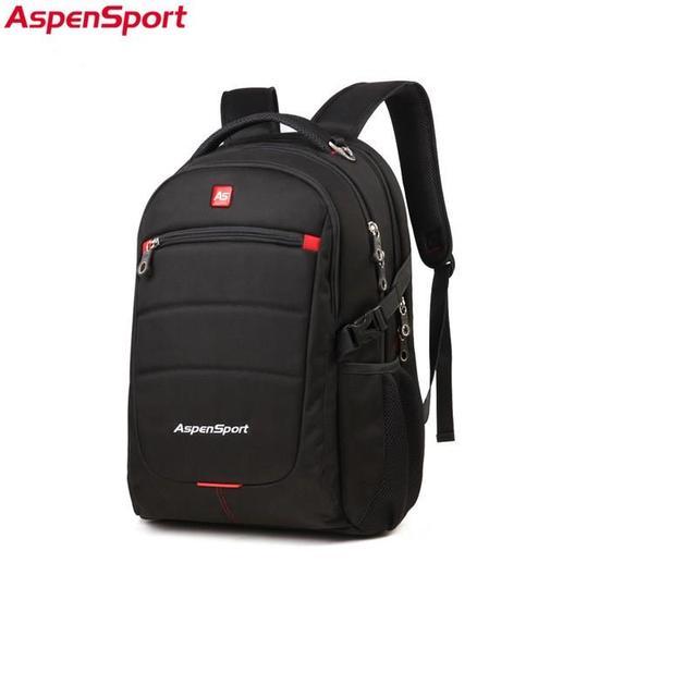 c00b11669e7 Aspensport Mannen Laptop Rugzakken Fashion Fit 15.6 Inch Grote Capaciteit  Business Travel Notebook Tassen voor School