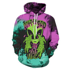 Halloween 3D Hoodies Men Women Hooded Sweatshirt Sorrowful Alien Print Casual