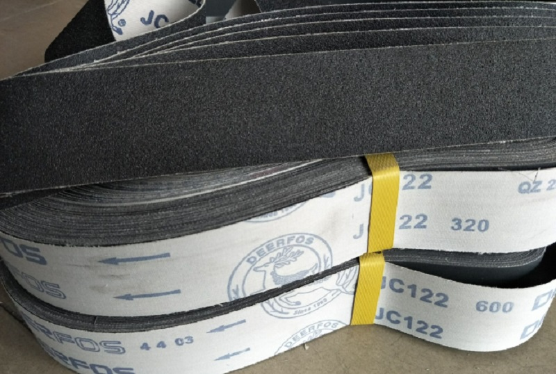 New 5pcs Silicon Carbide 1220*50MM Soft Cloth Belt Abrasive Sanding Belt For Wood  Soft Metal 660*50mm