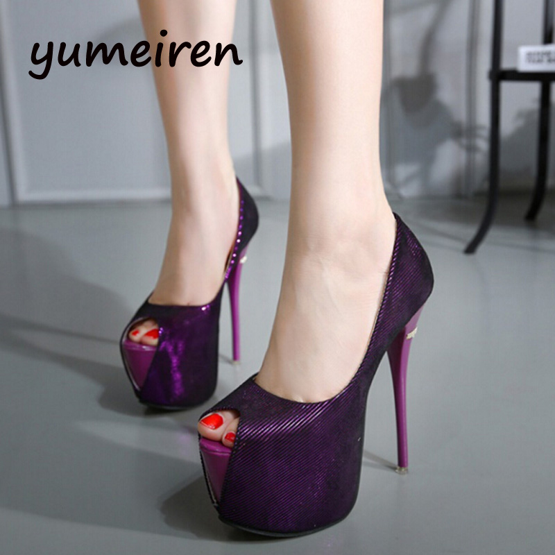 Sexy Purple High Heels Promotion-Shop for Promotional Sexy Purple ...