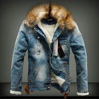 New Arrival Winter Autumn Men Jean Jacket Thickening Warm Denim Jacket Men S Jean Coat Keep