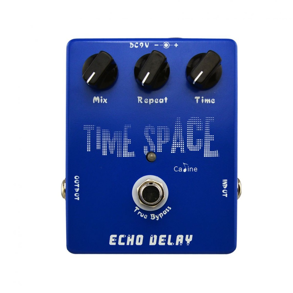 Caline CP-17 Echo Delay Guitar Digital Delay Pedal 600ms Max True Bypass Free shipping ms max v12a