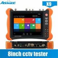 CCTV Tester H 265 4K IP Camera Tester X9 8MP TVI CVI 5MP AHD SDI CVBS