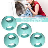 4 Pcs Magnetic Laundry Anti Limescale Ball Machine Ball Washing Accessories DTT88