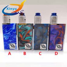 2018 sob v4 kit Mechanical Mod double 18650 Parallel connection Stainless steel and resin Vaporizer Mod vs AV or Rogue MOD KIT(China)