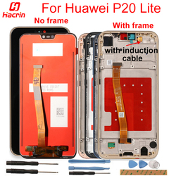 For Huawei P20 Lite Display LCD Screen With Front Frame LCD Display+Touch Screen For Huawei P20 Lite Lcd Display ANE-LX1 ANE-LX3