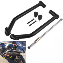цена на YZF600 R6 Motorcycle Engine Guard Protector Crash Bar for Yamaha YZF600 YZF-R6 2008 2009 2010 2011 2012 2013 2014 2015 Black