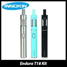 เดิมInnokin E Ndura T18ชุดบุหรี่อิเล็กทรอนิกส์กับ1000มิลลิแอมป์ชั่วโมงแบตเตอรี่และ2.5มิลลิลิตรE-ของเหลวความจุปริซึมT18เครื่องฉีดน้ำถังVape