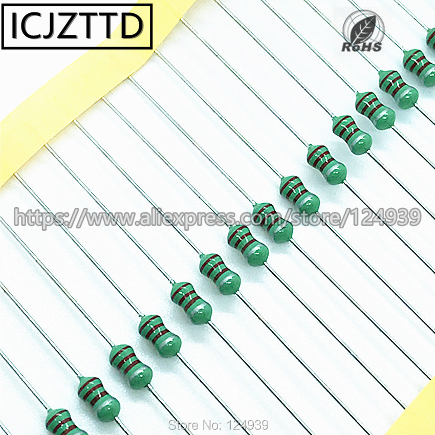 50 pieces Fixed Inductors 56uH 10/%