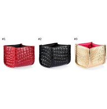 Solid Color Lady Cosmetic Brush Storage Box Case Holder Brush Pen Organizer Decorative Makeup Brush Holder Display Rack Boxes1