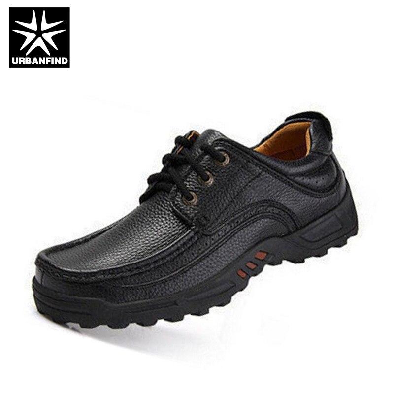 URBANFIND 男性ビジネススタイルの靴大サイズ 38 44 男フラットシューズソフト事務作業靴最高品質の男カジュアル靴  グループ上の 靴 からの オックスフォード の中 2