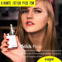 G-RANTE Pico istick 75 W caja mod/Kit Vape cigarrillo electrónico añadir MELO 3 Mini Atomizar