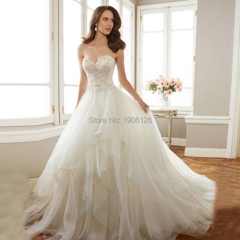 Robe de mariee blanc sale