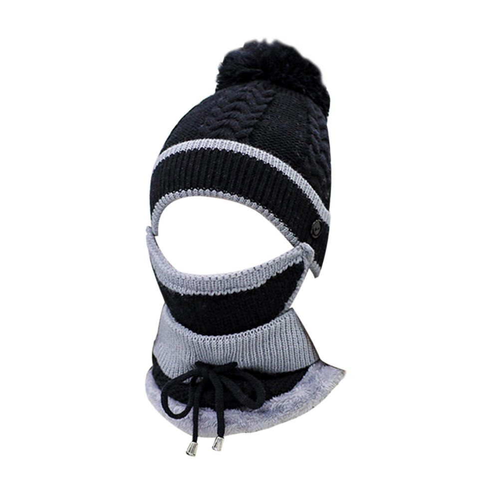 0153eda322c Acrylic Fabric Winter Hats For Women Girl  S Hat Knitted Beanies Cap ...