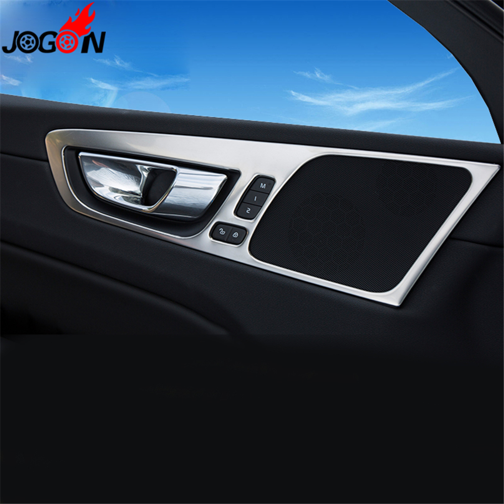 Car Styling Interior Front Rear Door Handle For Volvo XC60