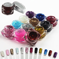 UV Gel Nail Art Color For Nails French Bling Colors Glitter Sequins Builder Lacquer Unhas De Farbgel Professional Manicura Lac