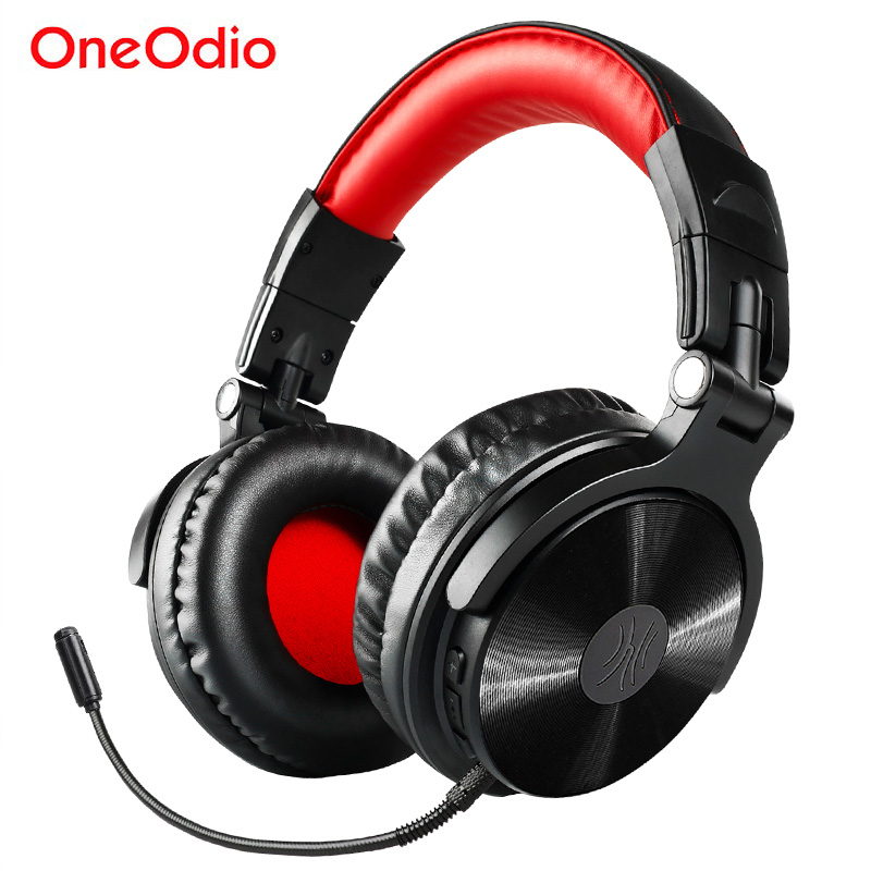 Oneodio Wireless Bluetooth 4 1 Headphone With Extended Mic Foldable Over Ear Gaming Headset Wireless Earphone