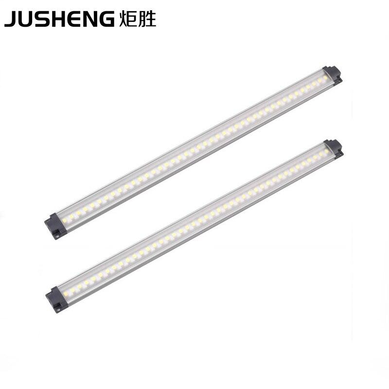 LED Aluminum Lamp 2pcs/lot 30cm Long 12V LED Cabinet Lights 3W Lighting Fixture bar for Furniture / Showcase / Wardrobe