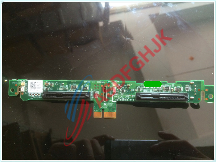 Original FOR Dell FOR PowerEdge M610 M710 1X2 Hard Drive HDD Backplane Riser Board P669H 0P669H 100% work perfectly x555l x555ld hdd hard drive board x555ld rev 2 0 original new