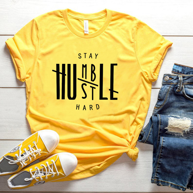 Stay Humble Hustle Hard T-shirt 1