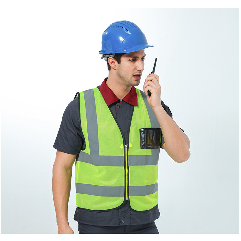 Reflective Warning Vest High Visibility Day Night Protective Vest For Running Cycling Car Traffic Safety