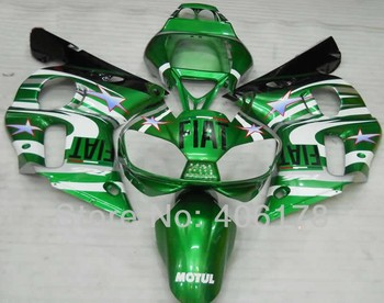 YZF600 R6 98-02 fairing kit For Yzf R6 1998-2002 Sport Motorcycle Green Fairings (Injection molding)