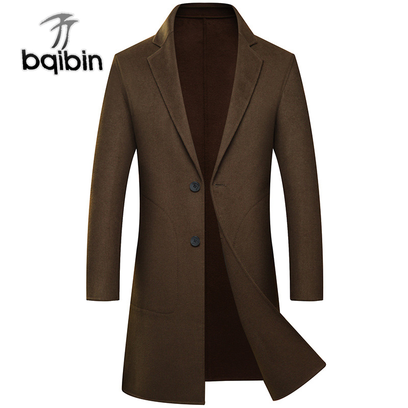 1e5519ce37 US $98.79 45% OFF New Fashion Winter Double Faced 70%Wool Coat Men Pure  Hand Made Medium Cashmere Casual Single Breasted Luxury Plus Size 3XL-in  Wool ...