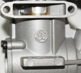ASP 2 Stroke S36AII S36A Nitro Engine for RC Airplane