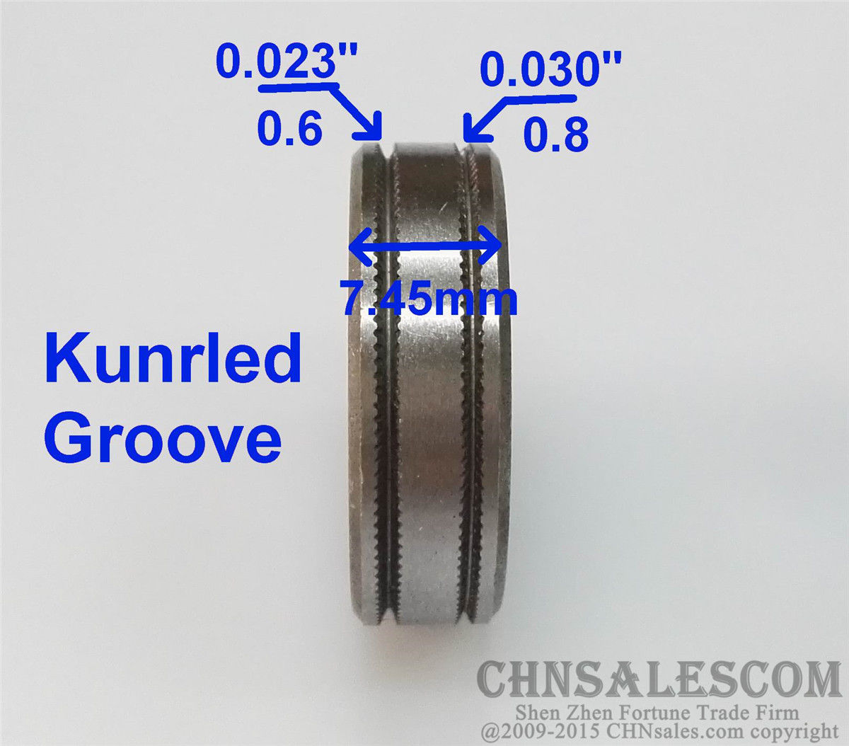 1*Mig Welder Wire Feed Drive Roller Roll Wheel Parts 0.6-0.8 Kunrled-Groove Sale