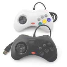 10pcs USB Wired game Controller Gamepad JoyPad Joystick   ( For Sega for Saturn Style) For PC ONLY