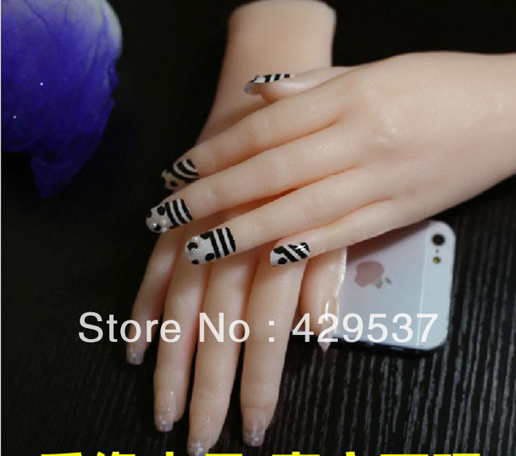 Top Quality Solid Silicone Woman Hands Japanese font b Sex b font font b Doll b