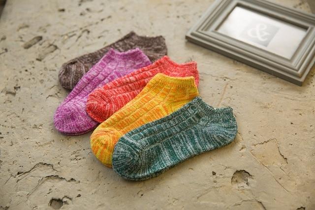 b3a417c08 € 14.39 |Calcetines mujeres calcetines de dibujos animados Animal ovejas  raya Dots chicas calcetines de colores KW81 en Calcetines de Ropa interior  ...