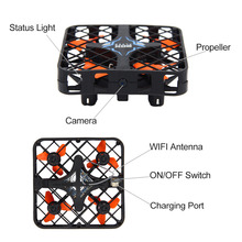 Super Micro RC Quadcopter Box With/Without WIFI Camera Mini Drone with Altitude Holding