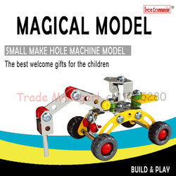 3D assembly of mechanical car toys, childrens educational development, improve the ability to manually Educational Toys