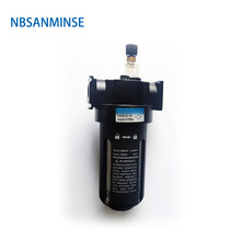 NBSANMINSE SL2000 Air oil Lubricator 1/4 3/8 1/2 Air Source Equipment Units FRL Units Air Compressor Parts one units все цены