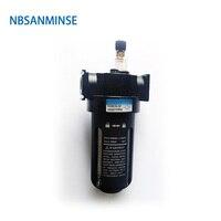 NBSANMINSE SL2000 Air oil Lubricator 1/4 3/8 1/2 Air Source Equipment Units FRL Units Air Compressor Parts one units