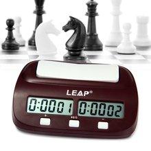 LEAP профессиональные цифровые Шахматные Часы Подсчет таймера вниз электронная настольная игра плеер набор портативный ручной Человек кусок мастер