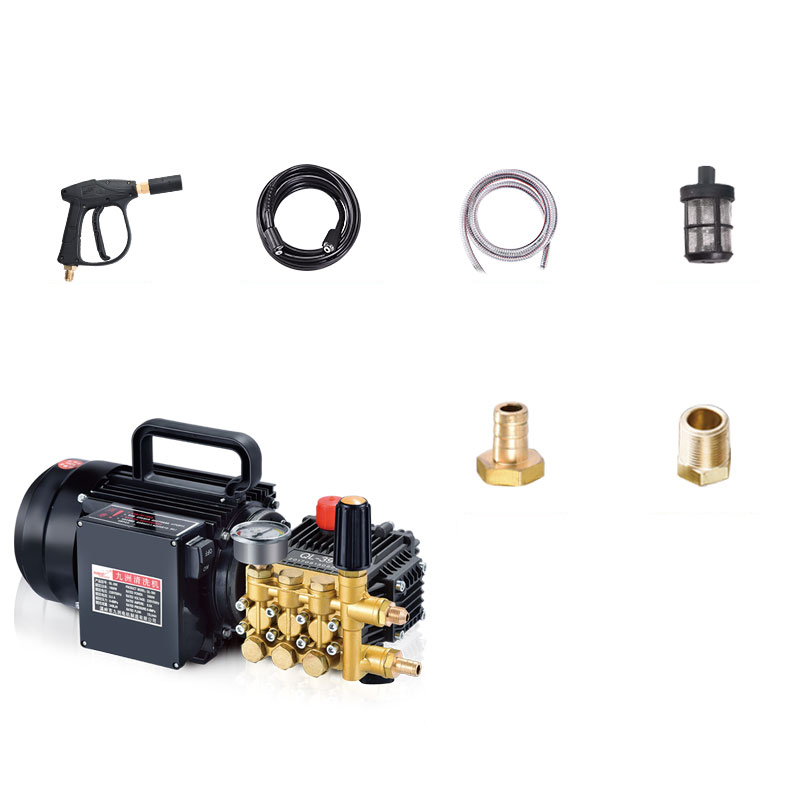 220V Electric Power Washer cleaning machine plunger and piston pump head wash pump 7Mpa Y cnc machining plunger piston pin part