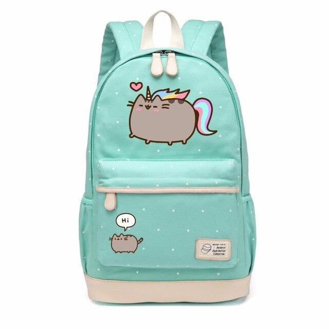 c2ac4f586c Cute Pusheen Cat Canvas Bag (25 Type)