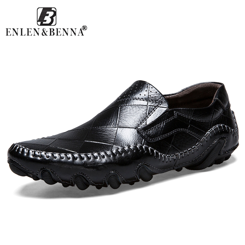 New Summer Spring Casual Shoes Men Slip-On Loafers Moccasins Genuine Leather Flat Oxford Men Male Adult Sneakers 2018 Plus Size summer leopard men shoes casual leather espadrilles flat loafers 2017 fashion spring vintage wedding oxford shoes