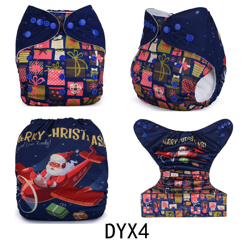 {AnAnBaby}2017 New arrival position prints cloth diapers reusable washable holiday position cloth nappies