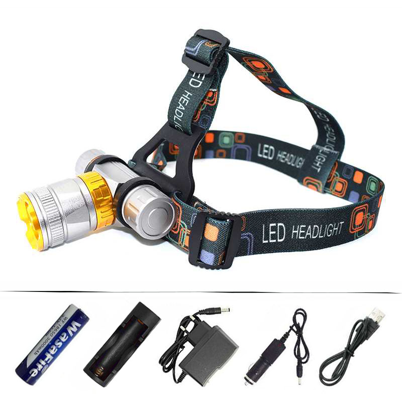 Diving Headlamp Mini Flashlight Underwater Scuba Diving Head Torch XML-T6 3800 Lumens LED Headlight Waterproof Swim Lamp Light r3 2led super bright mini headlamp headlight flashlight torch lamp 4 models