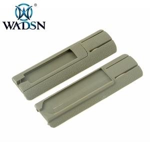 """Image 5 - WADSN Airsoft Panel de bolsillo ITI TD, 4.125 """", almohadilla de interruptor remoto, ranura de protección trasera compatible con rieles de 20mm, accesorio de luz de explorador PEQ15"""