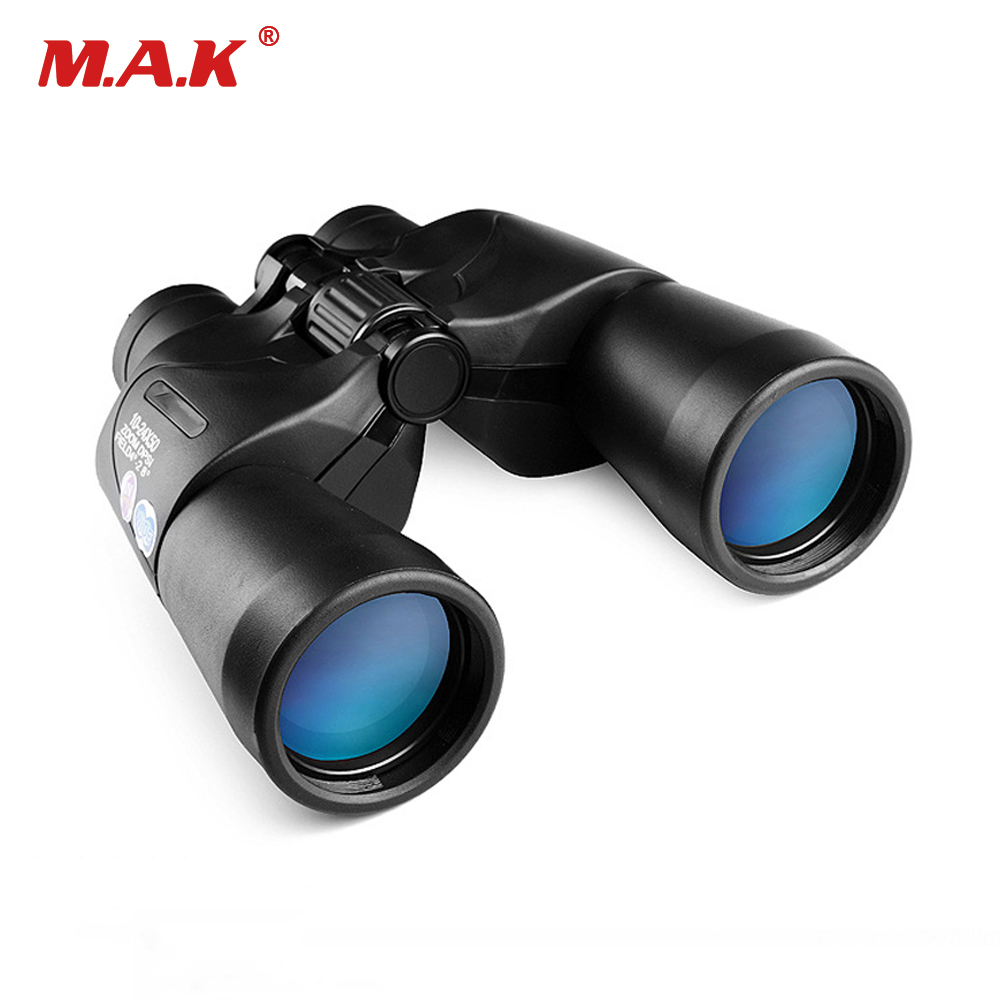 High-definition High-power 10-24X50 Binoculars Night Vision Telescope Center Focusing for Watching Camping Hunting цена и фото