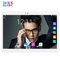 2018 WAYWALKERS Free Shipping Android 7 0 9 6 Inch Tablet Pc 10 Octa Core 4GB