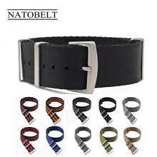 James Bond Seatbelt Nylon Nato Strap 20mm 22mm Watchbands